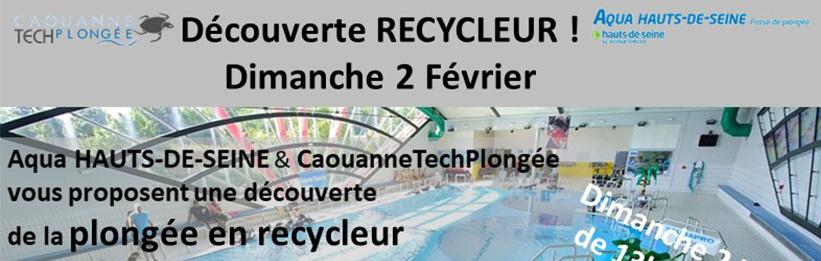 En coopération avec AQUA92, CaouanneTechPlongée a animé un stage d'initiation à la plongée recycleur au profit de Laurent, Philippe et Hervé