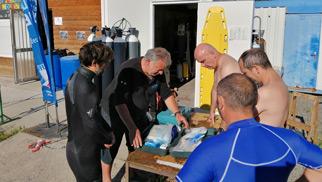 formation Plongée d'instructeurs et de professionnels
