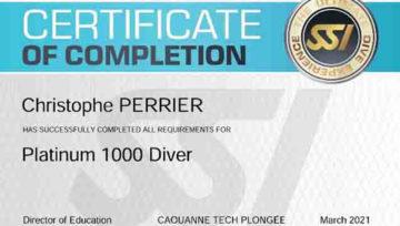 Quel plaisir que celui de certifier un professionnel aussi sympa qu'amoureux de la plongée que Christophe! Rigueur et accueil alsacien, sourire et générosité en plus